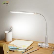 Desk lamp led book light lamp student dormitory study bedroom bedside lamp plug-in touch dimming light source все цены