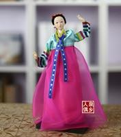 Korean silk doll features North Korean ornaments Han dress Juan people's opening ceremony statue home decoration wedding