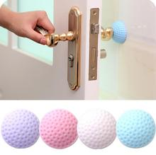 2019 Hot Sale! Rubber  Door Handle Knob Protection Baby Safety Shock Absorbers Handle Bumpers Baby Crash Pad Wall Protector 4PCS 15pcs gray aircraft shock absorbers damper door furniture protection safety