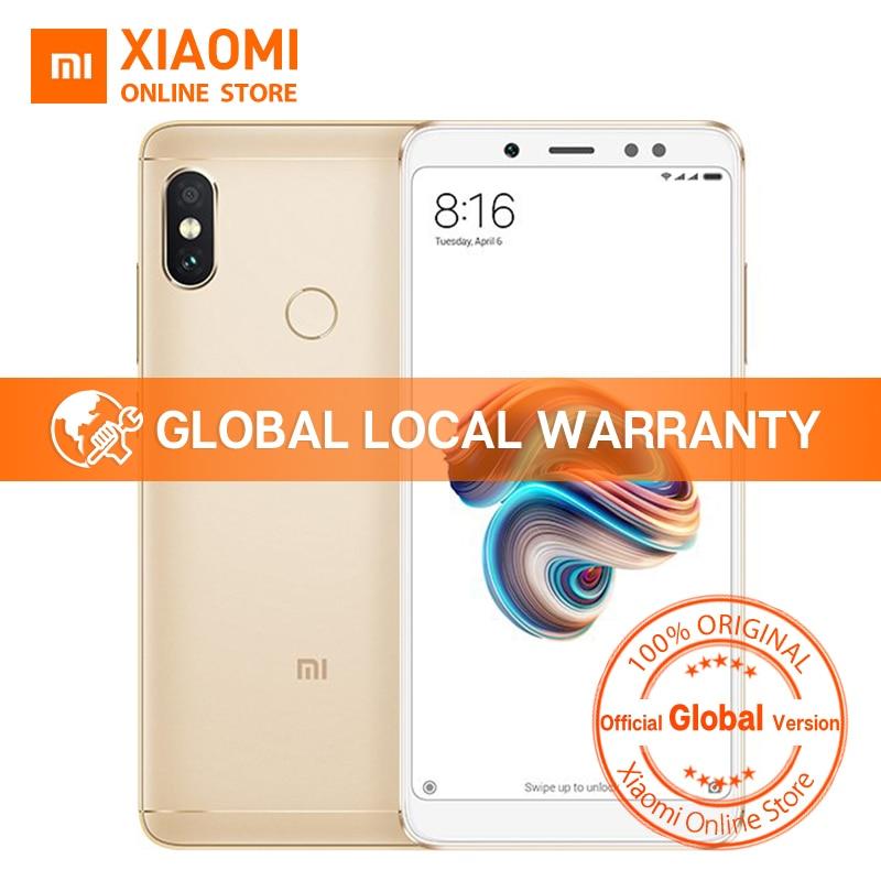 "Global Version Xiaomi Redmi Note 5 Snapdragon 636 Octa Core 3gb 32gb 5.99"" Full Screen Dual Ai Camera Note5 Smartphone"