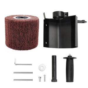 Image 5 - Meuleuse dangle électrique multifonctionnelle, polisseuse, accessoires de fixation, ponceuse métal, acier et bois
