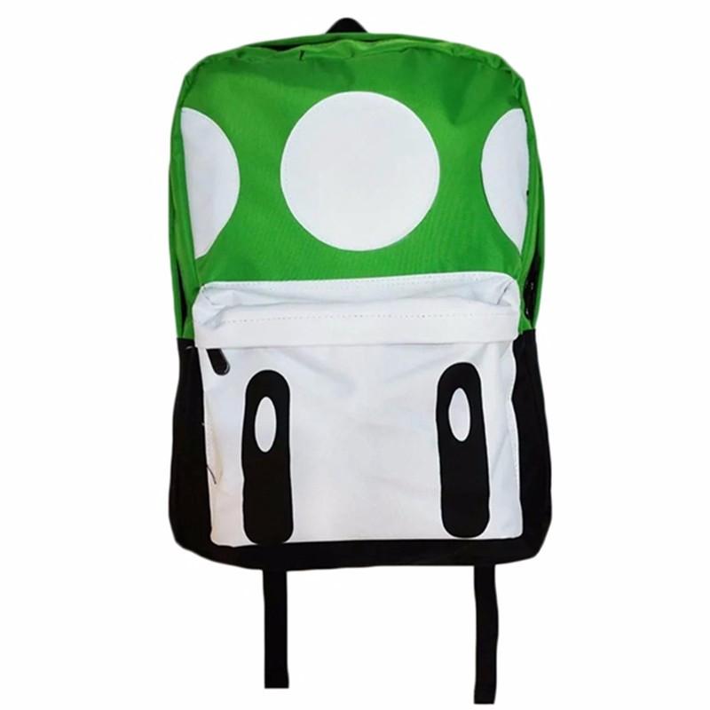 Cute Mochila Super Mario Backpack Children Teenagers Cartoon Girl Plush Bags Kids School Bags Super Mario Bros Printing Backpack (2)