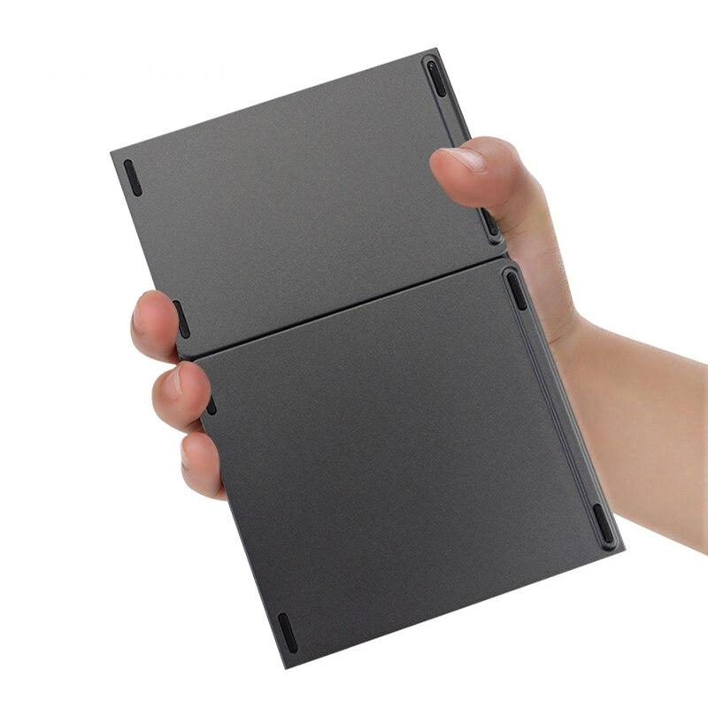Pour téléphone Portable Tab A (2016) clavier sans fil bluetooth Rechargeable BT Touchpad clavier Portable