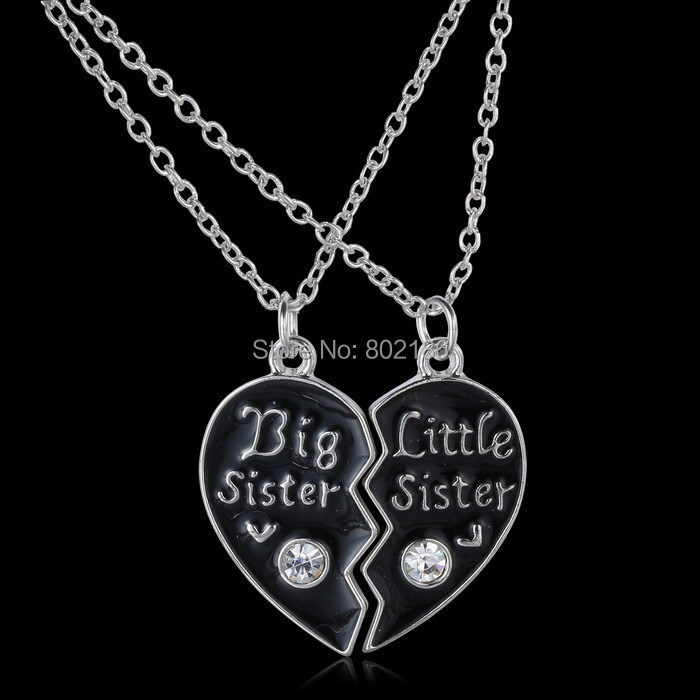 2p sisters pendant necklace broken heart puzzle jewelry unique 2p sisters pendant necklace broken heart puzzle jewelry unique personalized gifts charms couple necklaces for sister in pendant necklaces from jewelry mozeypictures Image collections