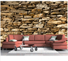 Free Shipping Custom 3D A Solid Stone Wall Of An Murals In Italian Alpine House Wall