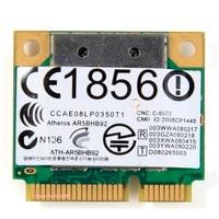 SSEA עבור Atheros AR5BHB92 AR9280 2.4 גרם/5 GHz 802.11a/b/g/n Wireless wifi חצי mini pci-e כרטיס עבור DELL/טושיבה/Acer/סוני/ASUS