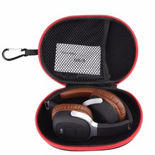 EVA Casque Cas de stockage Portable casque sac Haute Qualité Écouteur Accessoires Boîte À Glissière