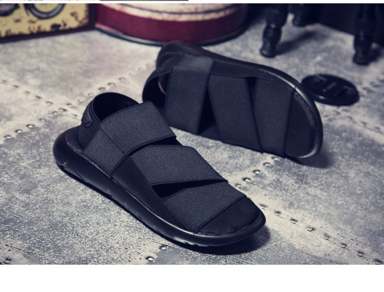 bd7621cff387 2016 New Arrival Y3 Sandals KAOHE SANDALS Outdoor Men Slippers Open-toed  Leather sandals Men Sandals G-DRAGON Slides Top Quality ...