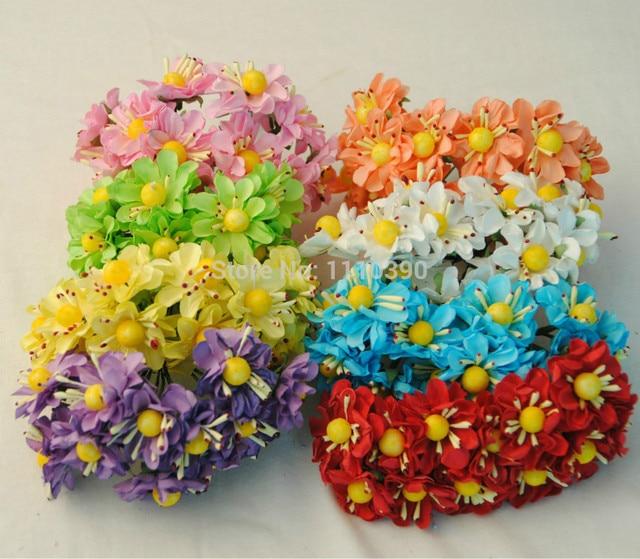 3CM artificial tissue paper flowers,silk gerbera daisy flowers ...