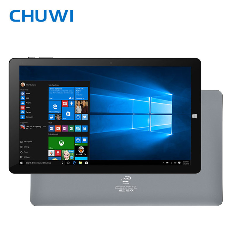 CHUWI Hi10 Plus Offizielle! 10,8 zoll Tablet PC Windows 10 Android 5.1 Dual OS Intel Atom Z8350 Quad Core 4 gb RAM 64 gb ROM