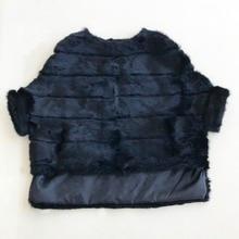 新加入ウサギの毛皮のコートのバット長袖毛皮のジャケットの女性の秋冬ナチュラルピンクショー本物の毛皮のコート女性WSR451