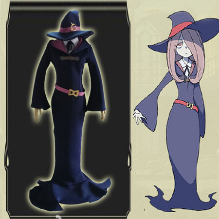 [Customize] Anime Little Witch Academia figure Sucy Mambavaran cosplay costume Full set New 2017