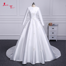 Jark Tozr 100% Long Sleeve A-line Wedding Dresses