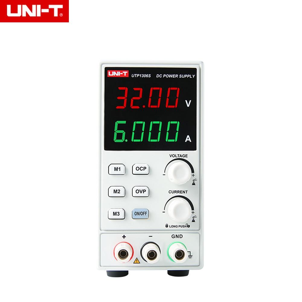 UNI-T UTP1306S Single-channel Linear DC Power Supply Stabilized Voltage 32V/6A 4bits DisplayUNI-T UTP1306S Single-channel Linear DC Power Supply Stabilized Voltage 32V/6A 4bits Display
