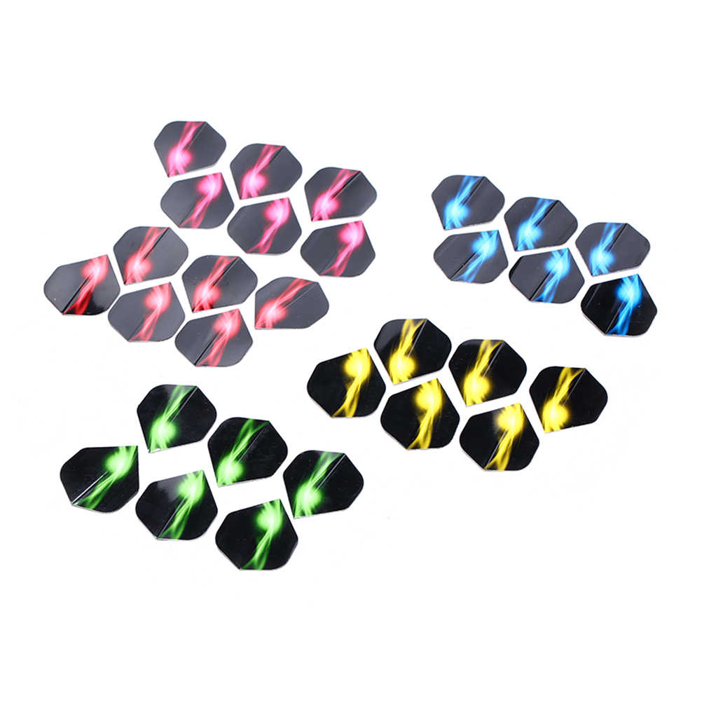 6/15/30Pcs/lot Darts Flights Wing Mixed Style for Professional Darts Wing Tail Cool Outdoor Sports Darts Accessories Random send