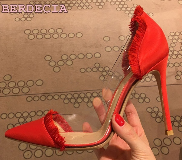 6517d7a2e070 Spring-new-products-red-satin-fringes-shallow-cut-pumps-pointed-toe -PVC-stitching-with-high-heel.jpg 640x640.jpg