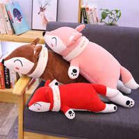 1pc Soft Kawaii Fox Dolls Stuffed Animal Plush Toys for Girls Children Boys Toys Soft Cartoon Plush Pillow Cute Birthday Gift