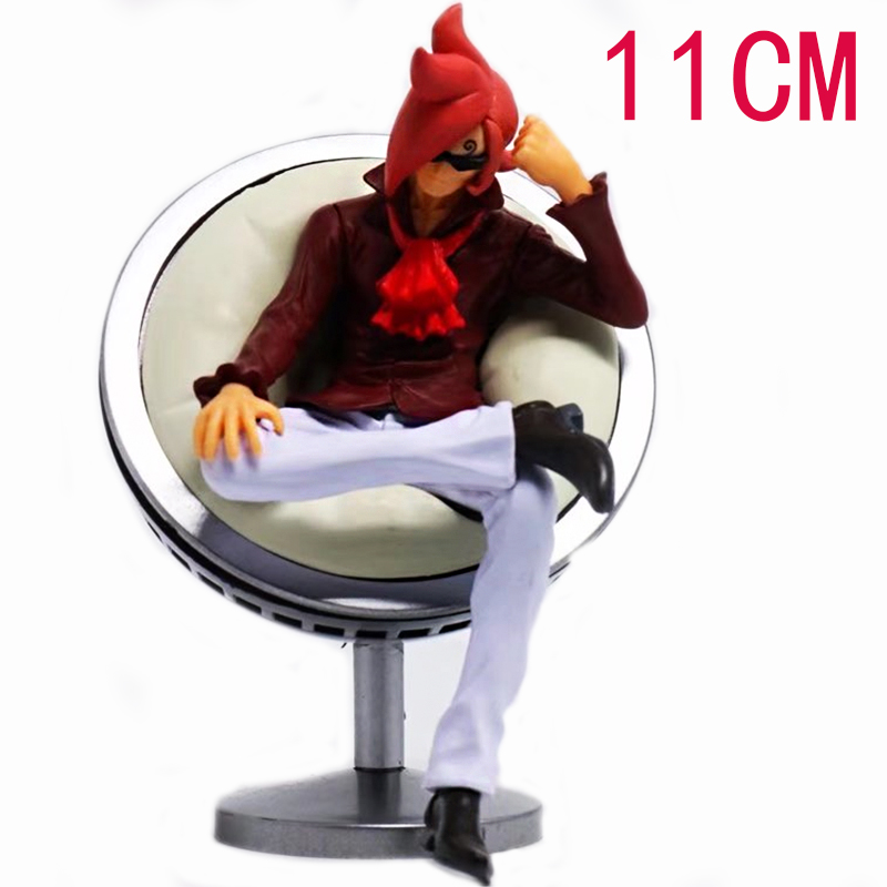 CF Anime One Piece DXF Vinsmoke Ichljl Sofa Figure Cartoon Toy Doll PVC Action Model Collection Gift for Boys 11cm 4parts sets super lovely chopper anime one piece model garage kit pvc action figure classic collection toy doll