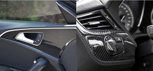 Image 5 - Película de vinilo de fibra de carbono brillante 5D para coche, 200cm x 50cm, lámina impermeable, bricolaje, pegatinas decorativas, accesorios para coche