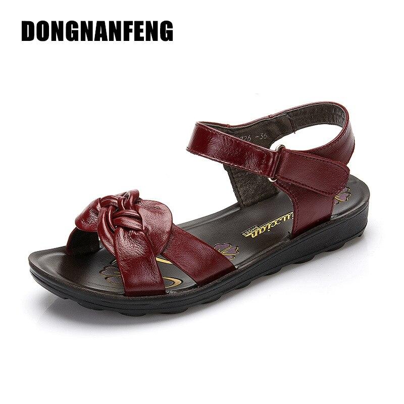 DONGNANFENG Ženske Stanovanjske čevlje Majice Čevlji Sandale - Ženski čevlji