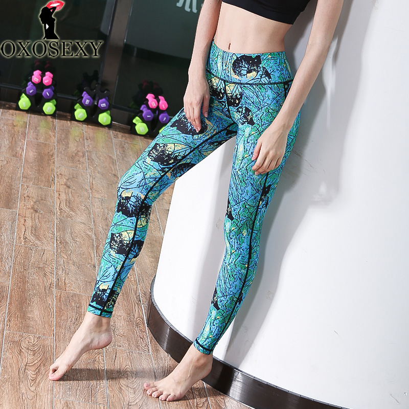 New Brand Women Winter Thicken Warm Yoga Pants Gym Fitness -3719
