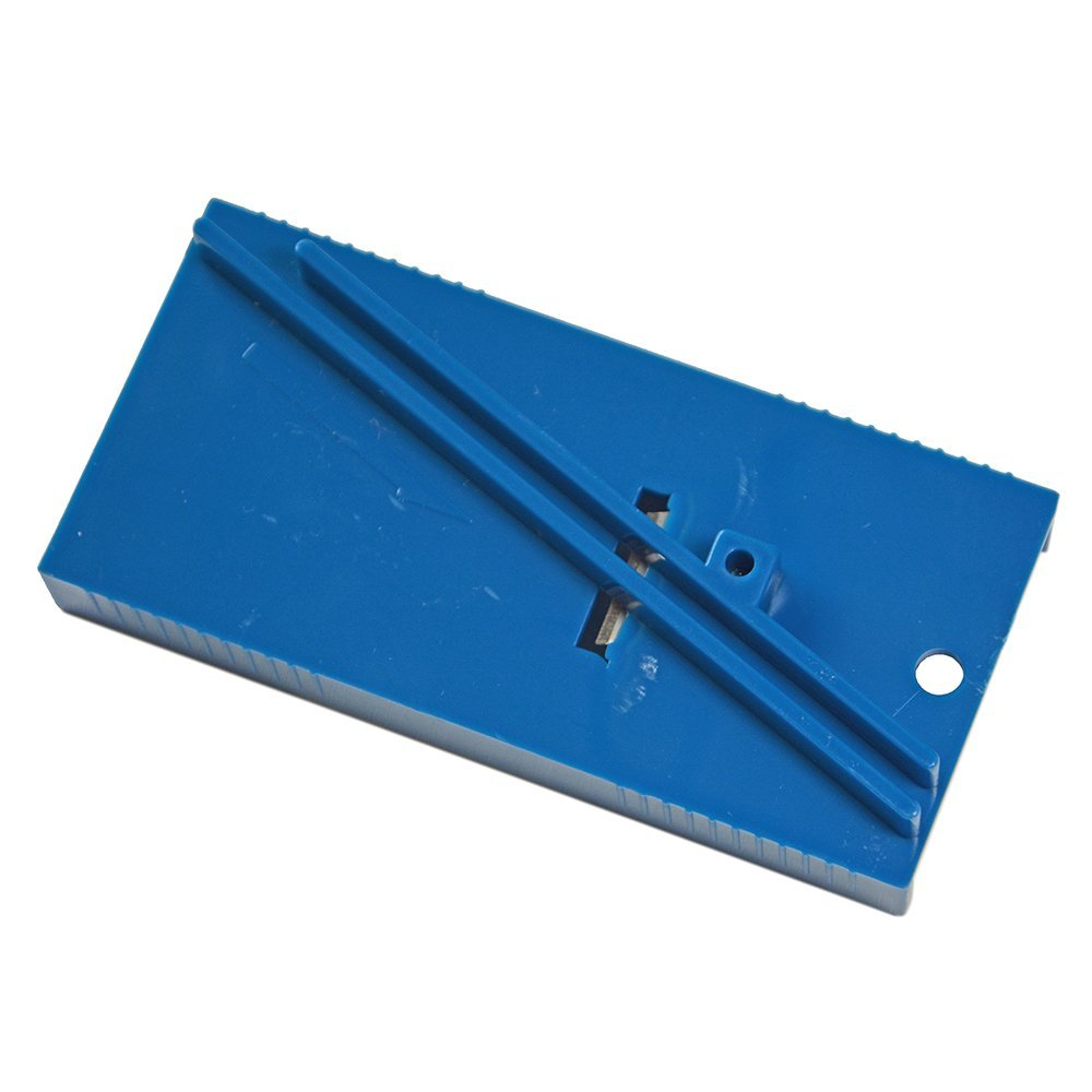 Image 3 - EHDIS Vinyl Film Car Wrap Ice Scraper Repair Tool Plastic Blue Squeegee Trimmer Hard Card Sharpening Tool skiving knife tool-in Scraper from Automobiles & Motorcycles