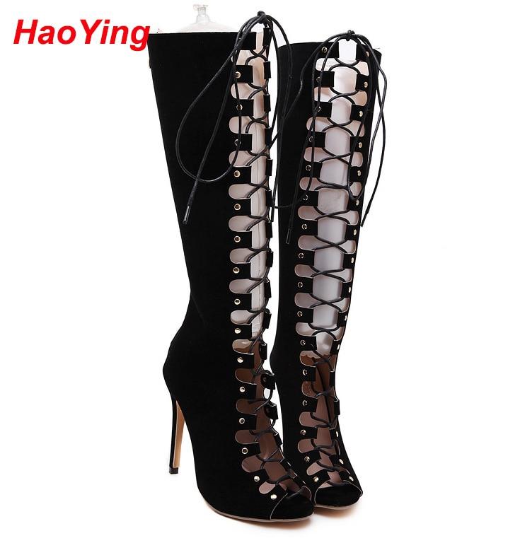 Popular Knee High Gladiator Sandals-Buy Cheap Knee High Gladiator ...