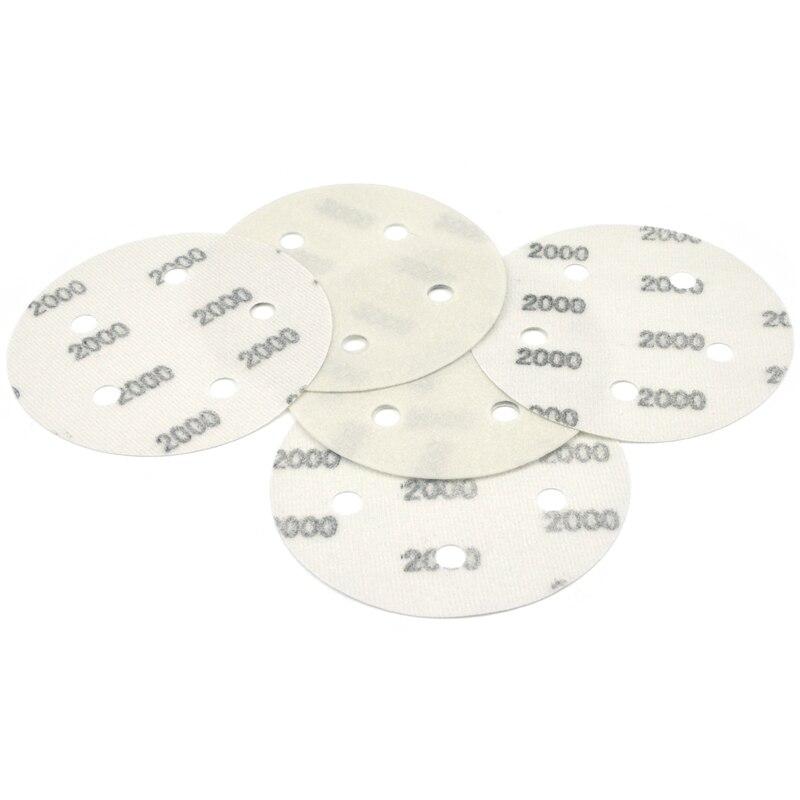 """6/"""" 150mm Wet or Dry Sanding Discs Hook Loop 600-4000 Grit for Metal Car Polish"""