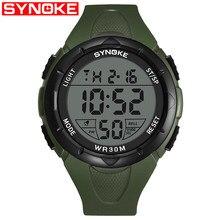 Relojes deportivos de marca SYNOKE para hombre 072f5c0b3067