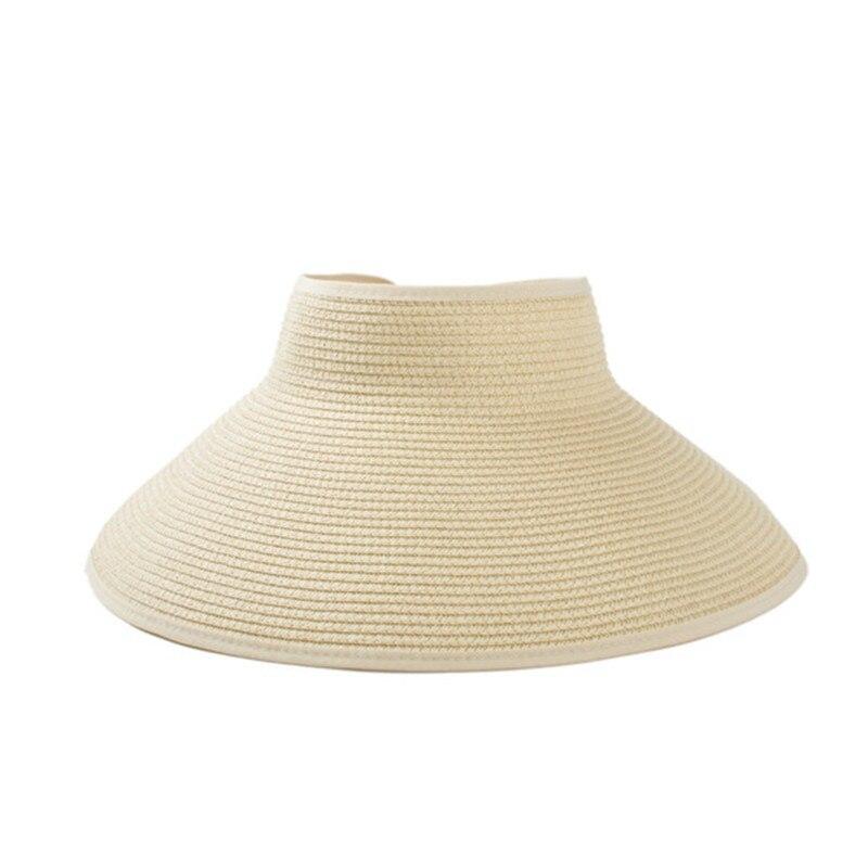 Kopfbedeckungen Für Damen Nett Bowknot Panama Stroh Sun Hut Für Frauen Chic Handmade Faltbare Roll Up Hut Fedora Strand Breiter Krempe Visiere Hut Frauen Sommer Caps Verschiedene Stile