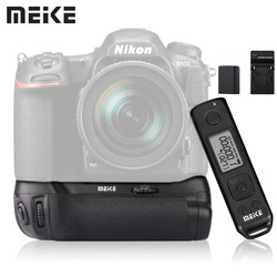 Meike MK-D500 Pro Battery Grip with EN-EL15 Battery for Nikon D500 Battery as MB-D17 with 2.4G Wireless Remote Control