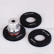 Filetage intérieur ADPLO: adaptateur de lentille RMS (20mm) pour lentille de la société de microscopie royale RMS à monture M42 à filetage intérieur rms