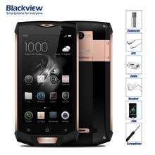 Blackview BV8000 Pro Водонепроницаемый IP68 Android 7.0 4 г LTE разблокирована сотовый телефон MTK6757 Восьмиядерный 16MP Камера 6 ГБ Оперативная память 64 ГБ Встроенная память OTG