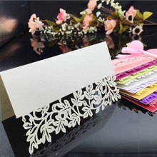 Buy wedding name card accessories and get free shipping on 10pcslot hollow number wedding accessories decoration junglespirit Images