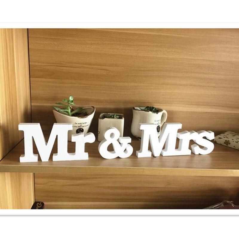 Toy bəzəyi cənab və xanımlar romantik mariage dekorasiya tərəf - Şənlik aksesuarları - Fotoqrafiya 3