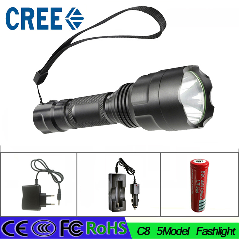 Z30  Cree  L2  lamp LED Flashlight torch bike hunting bike light lamp with 18650 battery AC charger car charger 2016 newest flashlight led cree xm l2 flash light 4 mode torch bike bicycle light outdoor lighting 18650 battery mount holder