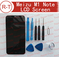 """Meizu M1 NOTE LCD Screen 100% High Quality LCD Display+Touch Screen MTK6752 FHD 5.5"""" Replacement for Meizu M1 NOTE Smart Phone"""