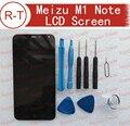 """Meizu m1 note tela 100% display lcd de alta qualidade lcd + tela de toque mtk6752 fhd 5.5 """"substituição para meizu m1 note telefone inteligente"""