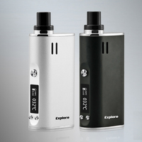 Original Yocan Explore 2 IN 1 Kit Electronic Cigarette Kit Vape Kit 2600mah Battery Capacity Temperature