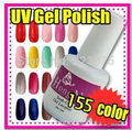 Wholesale DIY Professional Manicure Pedicure ANY 12 in 155 colors UV Led Soak-Off Gel Polish