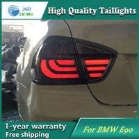 Стайлинга автомобилей хвост лампа для BMW E90 i318 i320 2005 2008 задние фонари светодиодные задние света задний фонарь светодиодный DRL + тормоз + park + ст