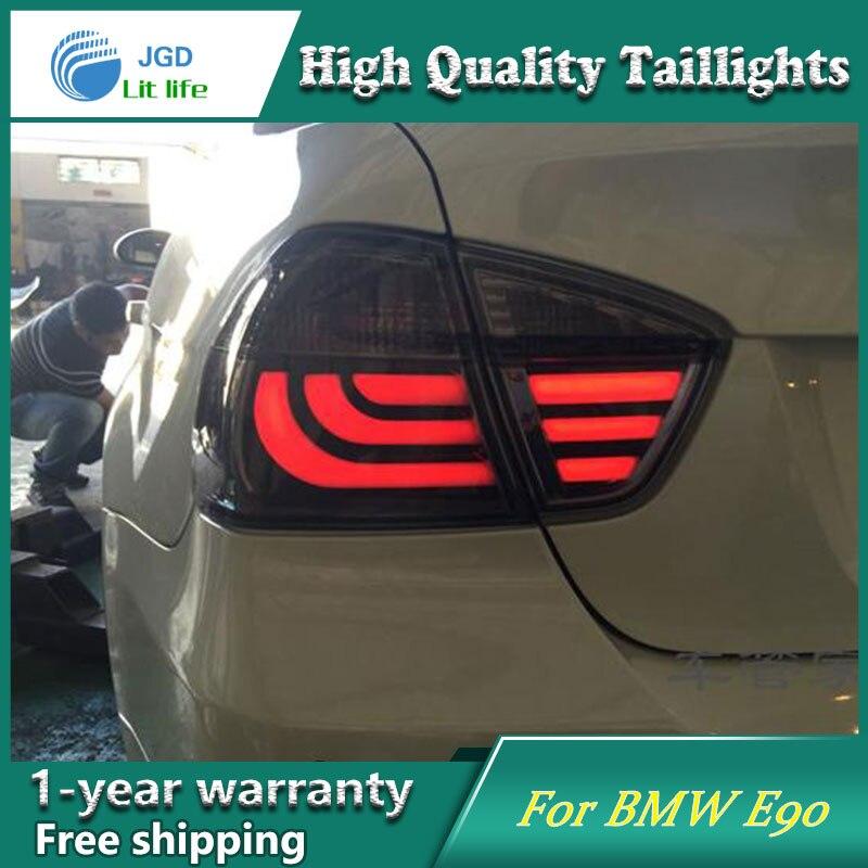 Car Styling Tail Lamp for BMW E90 i318 i320 2005 2008 Tail Lights LED Tail Light Rear Lamp LED DRL+Brake+Park+Signal Stop Lamp