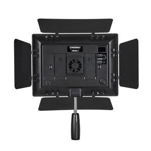 Image 4 - Yongnuo YN600 Ii YN600L Ii 5500K Led Video Light + Falcon Eyes Ac Adapter Set Ondersteuning Afstandsbediening Door telefoon App Voor Interview
