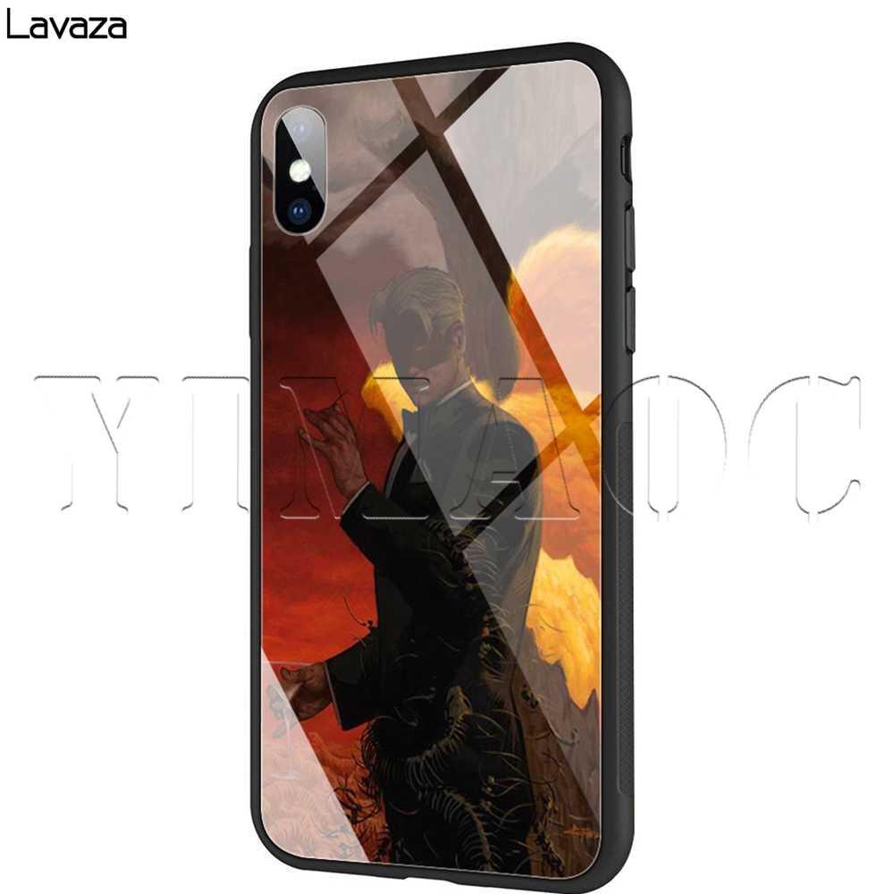 Lavaza Lucifer TV Tempered glass TPU Trường Hợp đối với iPhone XS MAX XR X 8 7 6 6 S Cộng Với