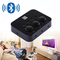 Car Kit Bluetooth Receiver Stereo Music Adapter Wireless Audio Receptor 3.5mm AUX Jack For Headphone Subwoofer Speaker