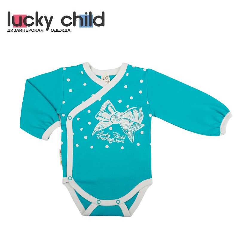 Bodysuits Lucky Child for girls 14-5 Retro Body Newborns Babies Baby Clothing Children clothes made in russia