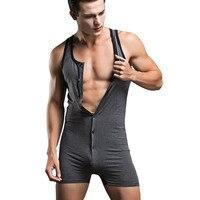 Slimming corset body shaper shapewear faja hombre cotton shirt bodysuit mens underwear camisa masculina body suits sleepwear 1