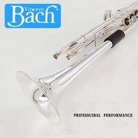 Trumpet Bach Silver LT190S 37 B flat professional trumpet bell Top musical instruments Brass horn