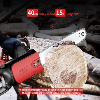 YAT Electric Saw 220V 1400W Powerful Chain Saw  for Woodworking  Household DIY Chainsaw 1