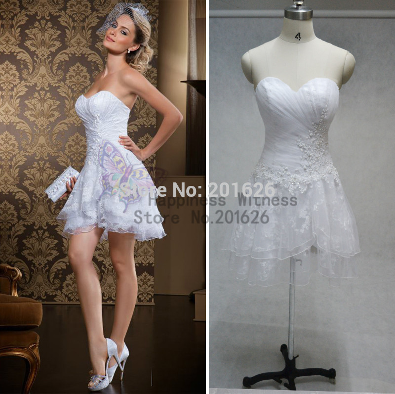 Short Sexy Wedding Dresses 2014 - Missy Dress